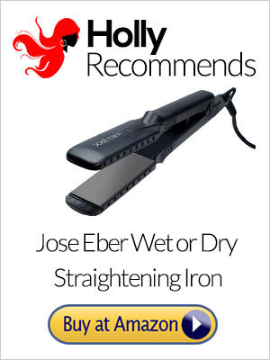 Look Like A Hollywood Celebrity With The Jose Eber Flat Iron