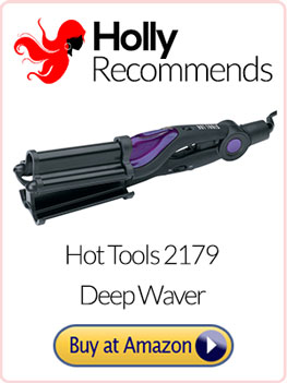 hot tools ceramic curling iron