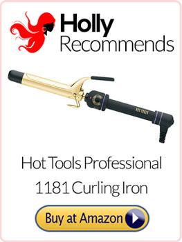 hot tools curling iron
