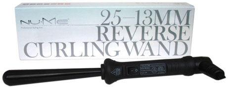 Nume Clipless Tourmaline Hair Curling Wand Reverse