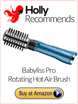 babyliss pro nano titanium rotating hot air brush